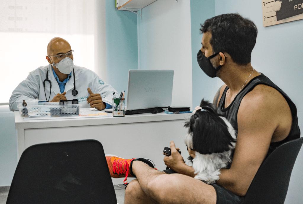 centro veterinário dr patas atendimento pet cuidado canino