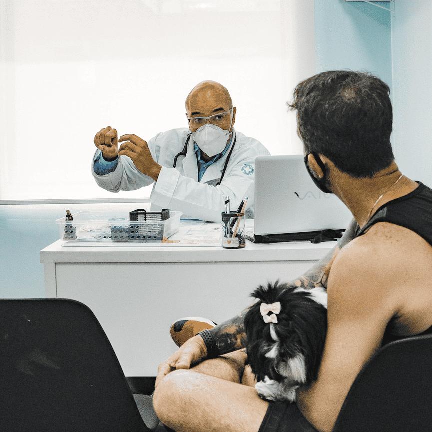 consulta veterinária dr patas